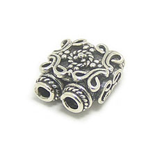 Bali Beads | Sterling Silver Silver Beads - Connectors, Silver Beads B2003