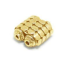 Bali Beads | Sterling Silver Vermeil-24k Gold Plated - Vermeil Connectors, 24K Gold Vermeil on Sterling Silver B2005V