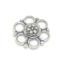 Bali Beads | Sterling Silver Silver Beads - Connectors, Silver Beads B2012