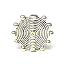 Bali Beads | Sterling Silver Silver Beads - Other Shapes, Silver Beads B3021