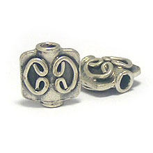 Bali Beads | Sterling Silver Silver Beads - Other Shapes, Sterling Silver Beads - B3030