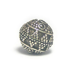 Bali Beads | Sterling Silver Silver Beads - Other Shapes, Sterling Silver Beads - B3038