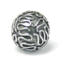 Bali Beads | Sterling Silver Silver Beads - Round Beads, Wholesale Sterling Beads