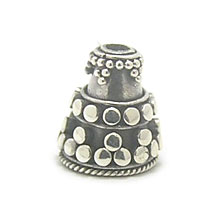 Bali Beads | Sterling Silver Silver Caps - Cone Caps, Silver Beads C1004