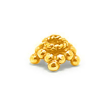 Bali Vermeil-24k Gold Plated - Vermeil Granulated Caps