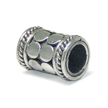 Bali Beads | Sterling Silver Silver Beads - Large Hole Beads, Large Hole Bead Sterling Silver