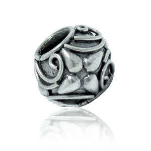 Bali Beads | Sterling Silver Silver Beads - Large Hole Beads, Sterling Silver Large Hole Bead