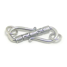 Bali Beads | Sterling Silver Silver Toggles and Claps - Claps, Silver Beads T5003